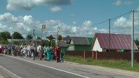 Крестный ход в день обретения мощей пр. Сергия Радонежского