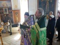 Престольный праздник в селе Воздвиженское 30 марта 2018 года