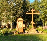 Божественная Литургия в храме Серафима Саровского