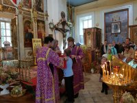 Престольный праздник в селе Воздвиженское 27 сентября 2018 года