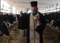 Молебен в СПК «Зубцовский»